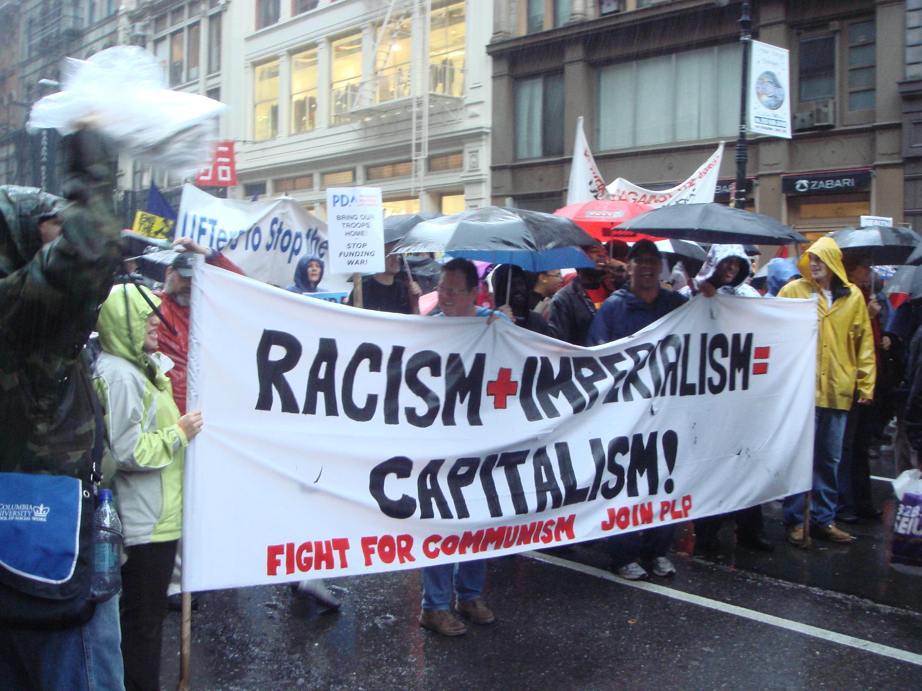 anti war demo