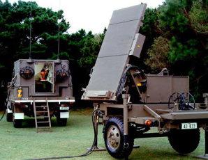 TPQ-36 Fire Finder Radar Parts