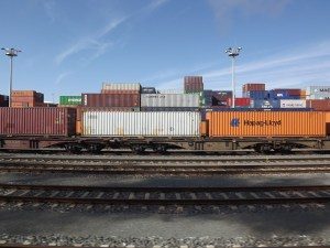freight train, freight transport, transport of goods