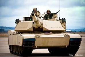 M1A1 Abrams Tank Parts