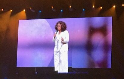 2020 Life's Vision Tour – Oprah, Me, and 15,000 Fans