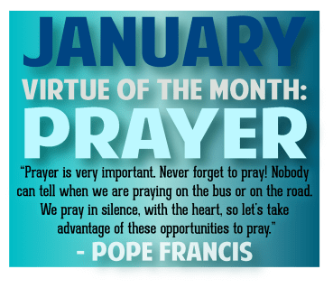 Image result for pope francis january prayer