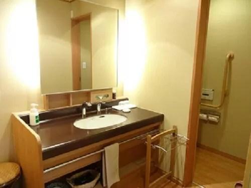 草津温泉【望雲】雲松庵(洋室・ツインルーム)の洗面所
