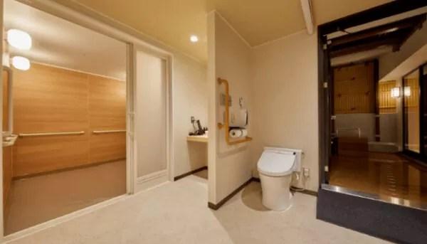 【アートホテル大阪ベイタワー】「空庭温泉」バリアフリー対応個室貸切風呂