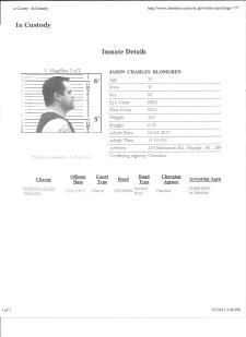 Pg 2 of Jasons arrest of stolen firearm in Murphy NC