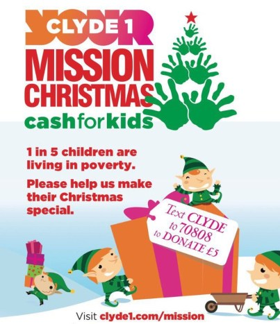 Cash for Kids, Mission Christmas.