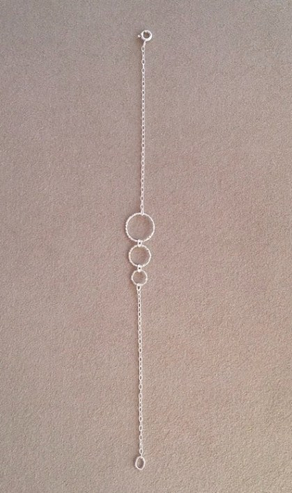 Three Circle bracelet