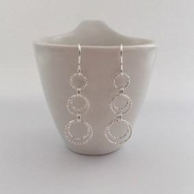 Long Circle earrings