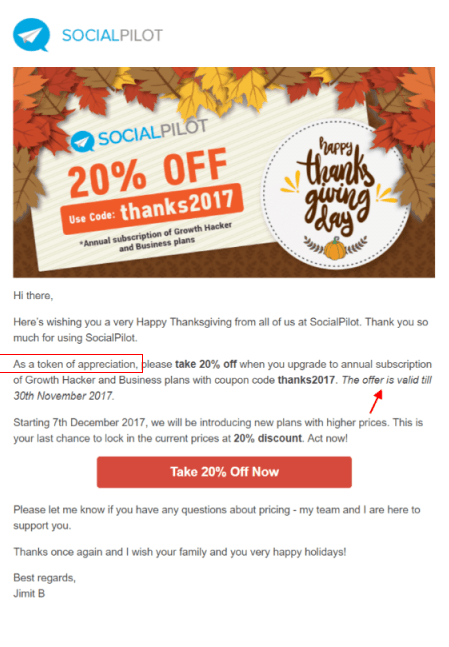 31 Ways To Design Your Thanksgiving Email Template Subject