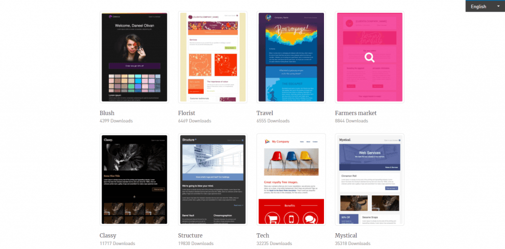 900 Free Responsive Email Templates Editable Without