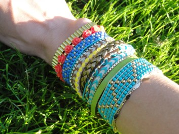Ils sont beaux mes bracelets !