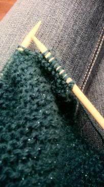 mon tricot en cours
