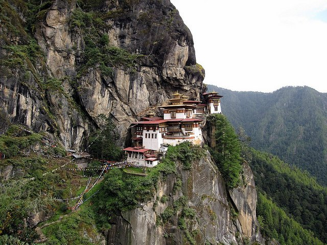 Built in 1692, but destroyed by oil lamp fire several times, a sad, recurring theme in Bhutan