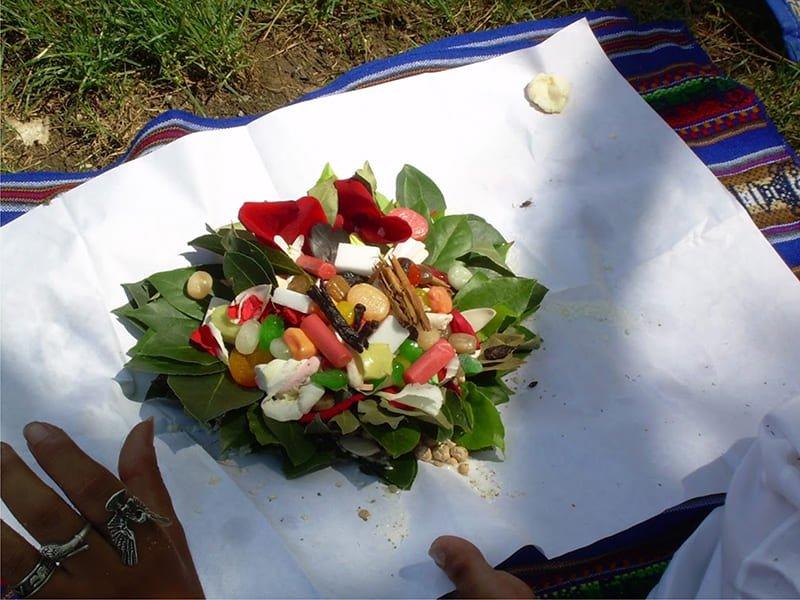 Celebrando el mes de la Pachamama