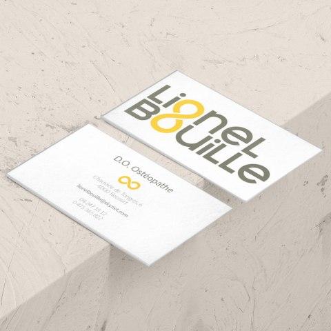 Carte de visite Lionel Bouille - Osthéopathe