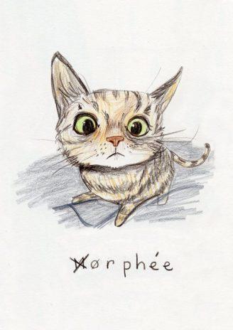 Orphée - dessin