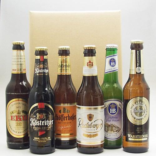 人気ドイツビール6種 6本セット