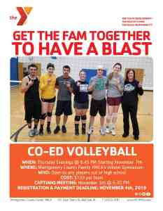 Co-Ed Volleyball 2019
