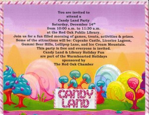 Library Candy land