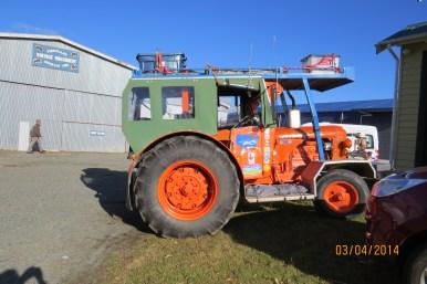 Cumber's tractor at Fiordland Museum