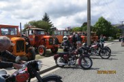 Tractors meet motorbikes at Tapanui