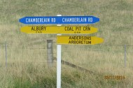 Chamberlain sign in McKenzie country
