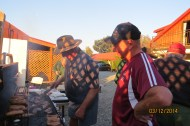 Neville & Peter - BBQ cooks at Fairlie
