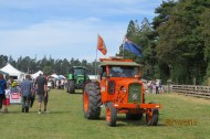 N.Z. Tractors lead the Grand Parade