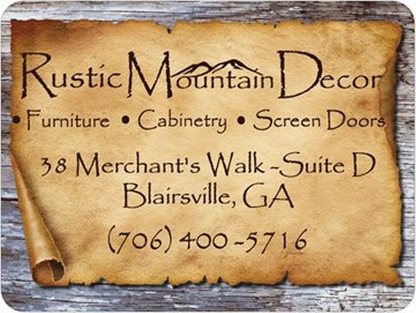 Rustic Furniture Blue Ridge Ga