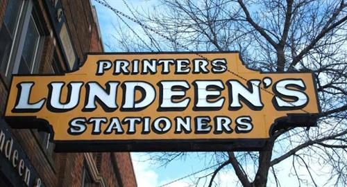 Lundeen's sign