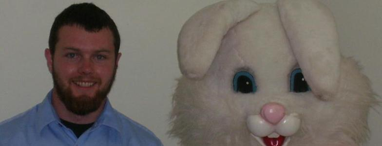 JF and the Easter Bunny