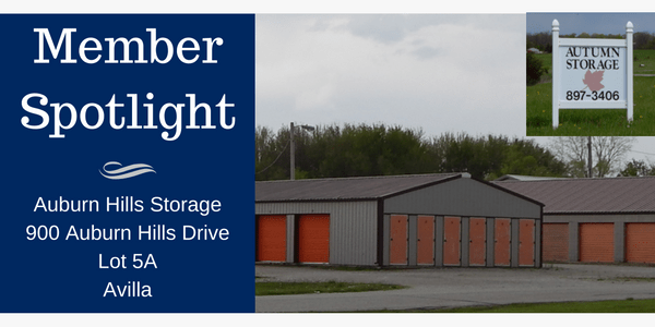 Membership Spotlight - Autumn Hills Storage Avilla Indiana