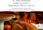 Avilla Chamber Turkey Dinner 2017