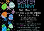 Event:  Breakfast with the Easter Bunny