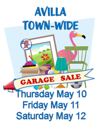 2018 Town of Avilla Garage Sale ACC
