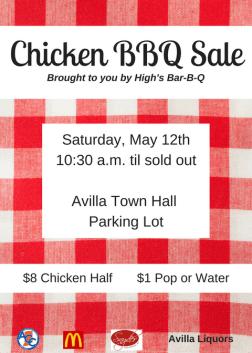 Chicken BBQ Sale