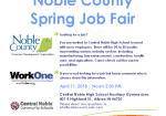 April 11:  Job Fair