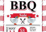 May 11:  High's Chicken BBQ