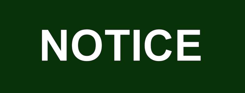 ACC Notice