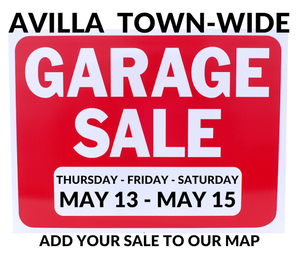 2021 Avilla Town-wide Garage Sales