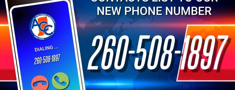 Avilla Chamber New Number Alert