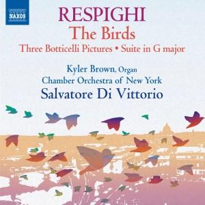 Respighi - Naxos CD 8.573168 cover