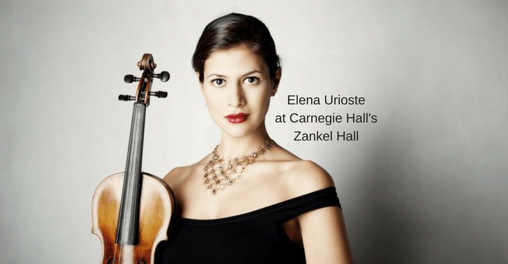 Elena Urioste, Chamber Orchestra of New York, Carnegie Hall