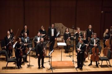 """Chamber Orchestra of New York, Christmas Concerti. Salvatore Di Vittorio, conductor; PROGRAM SAMMARTINI, Concerto Grosso, op. 5, no. 6 """"Natale"""" VIVALDI, Concerto for Violin, in E major """"Il Riposo, Per Natale"""", RV 270 VIVALDI, Concerto for Violin, in D major """"per la Solennità di S.Antonio"""", RV 212 TARTINI (transc. Respighi), Pastorale, for violin and strings, P. 86 DI VITTORIO, Ode Corelliana [New York Premiere] CORELLI, Concerto Grosso, op.6, no.8, G minor """"Per la notte di Natale"""""""