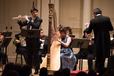 Mozart's Concerto for Flute and Harp