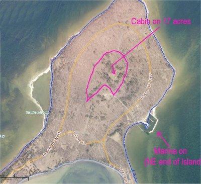 Chambers Island Maps