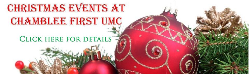 Chamblee First UMC Christmas Events