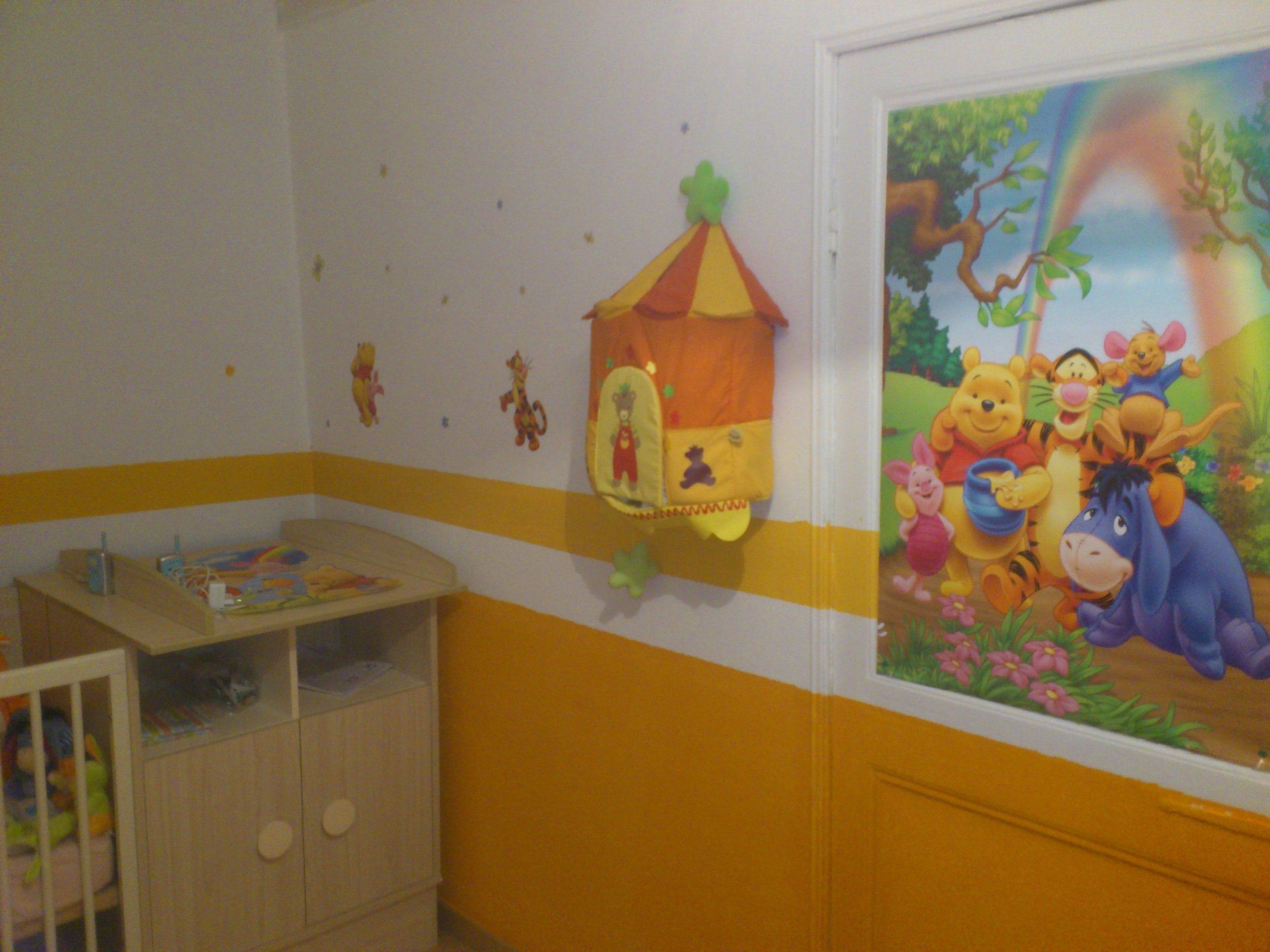 Idee Deco Chambre Bebe Winnie L'ourson   Deco Chambre