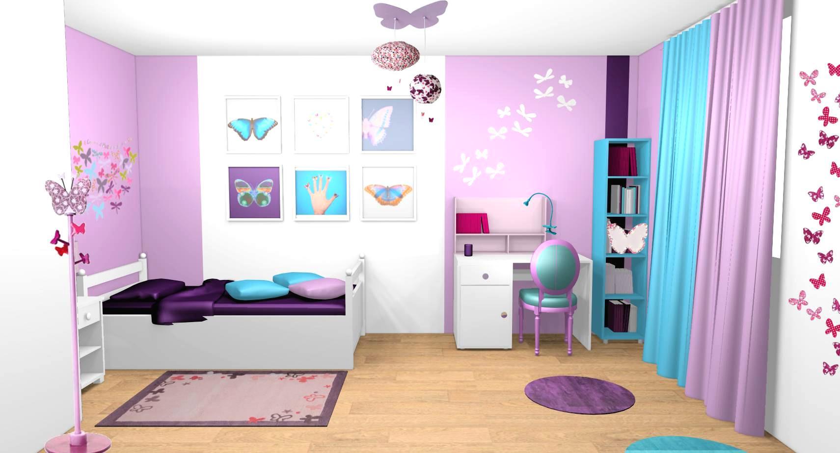 Deco Chambre Fille 8 Ans - Idee Deco Chambre
