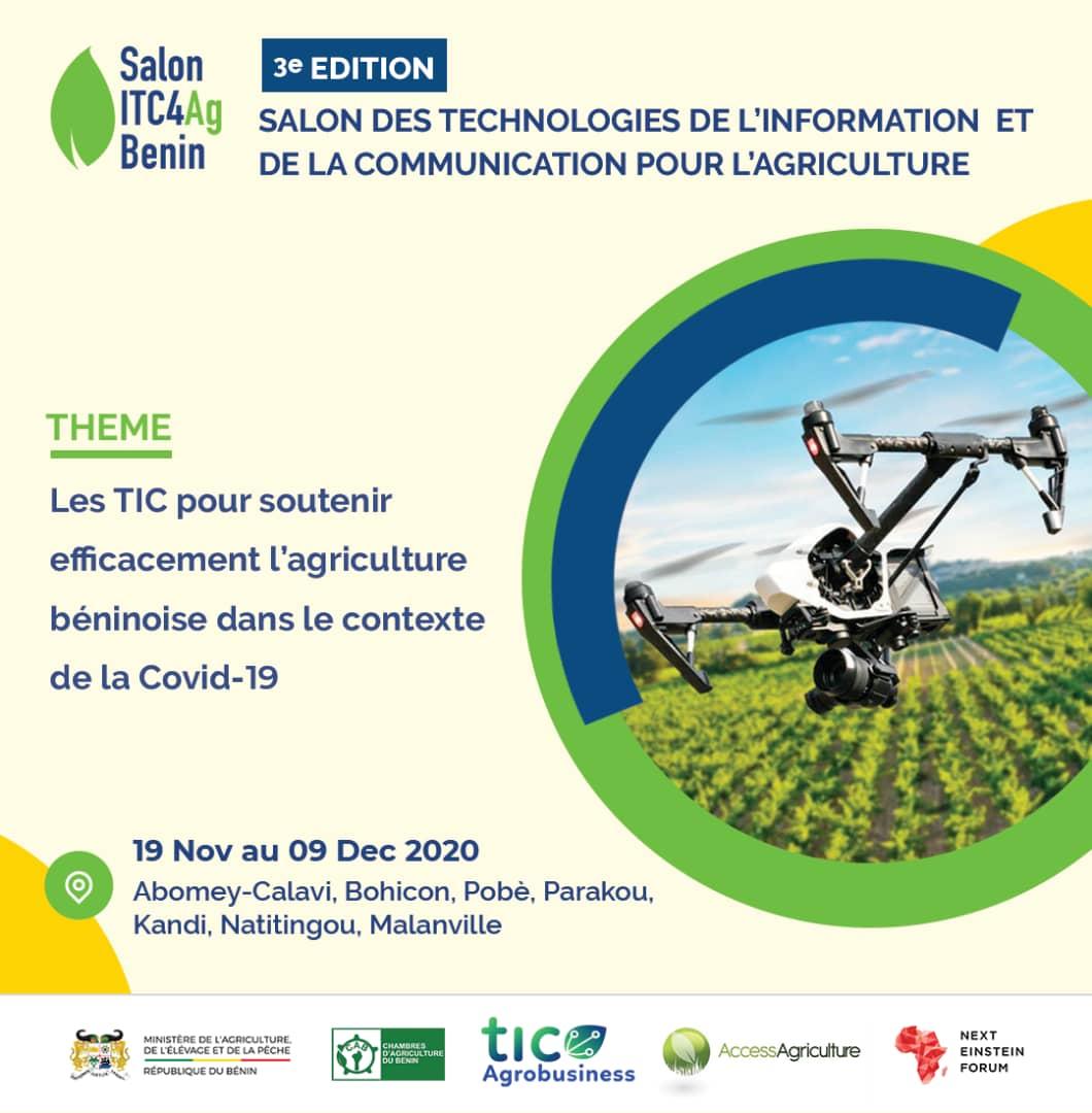 Read more about the article ICT4Ag – Salon des TIC pour l'agriculture 3eme Edition